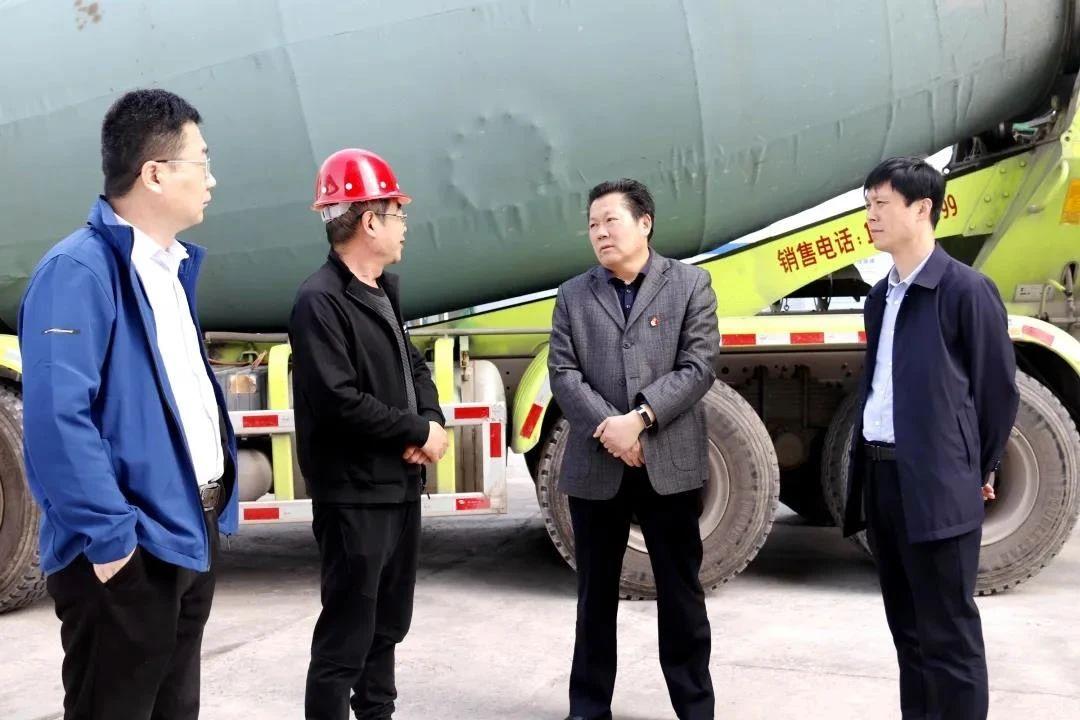 义马市人大常委会调研城建重点项目