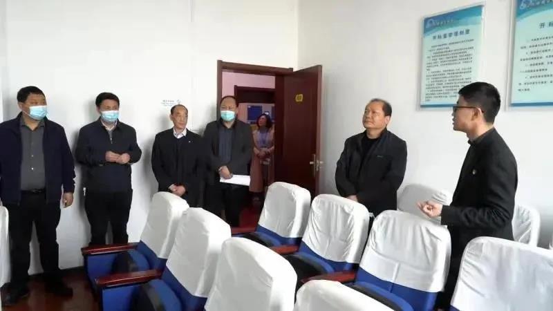 义马市人大常委会调研政府采购和招投标工作