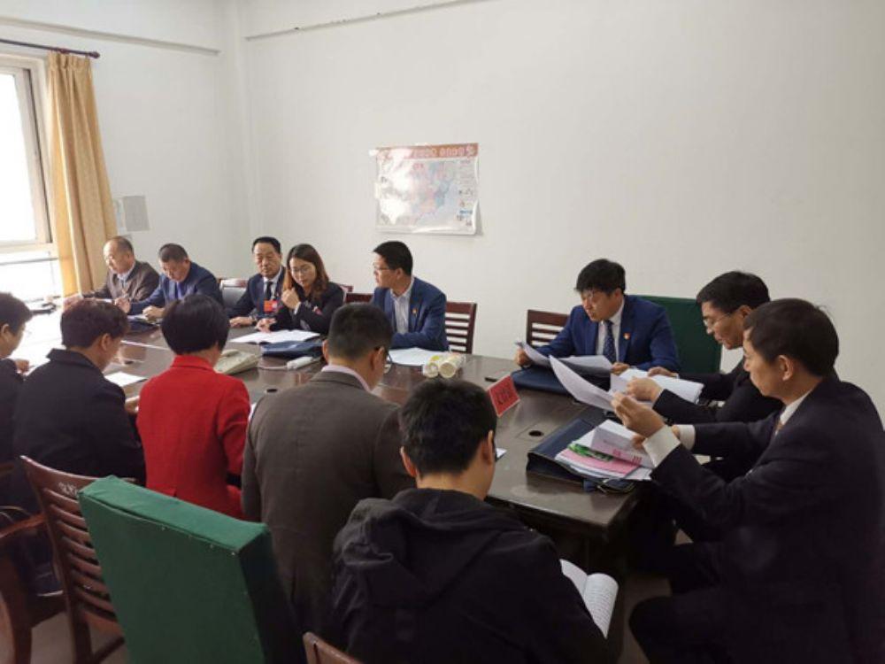 县人大代表分团审议县政府工作报告
